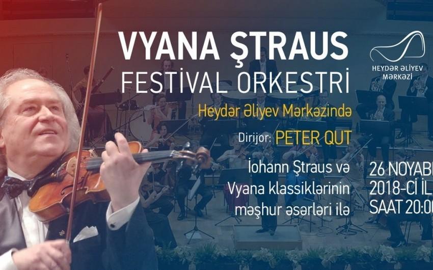 Vyana Ştraus Festival Orkestri Bakıda konsert proqramı ilə çıxış edəcək