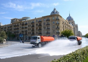 Baku to disinfect streets again