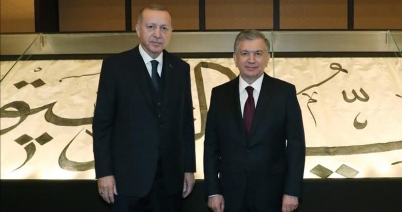 Главы Турции и Узбекистана обсудили двусторонние отношения