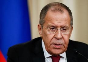 Лавров: Россия заинтересована в укреплении взаимодействия с МККК в Карабахе