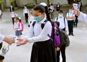 В сентябре в школах Азербайджана введут новые правила в связи с COVID-19