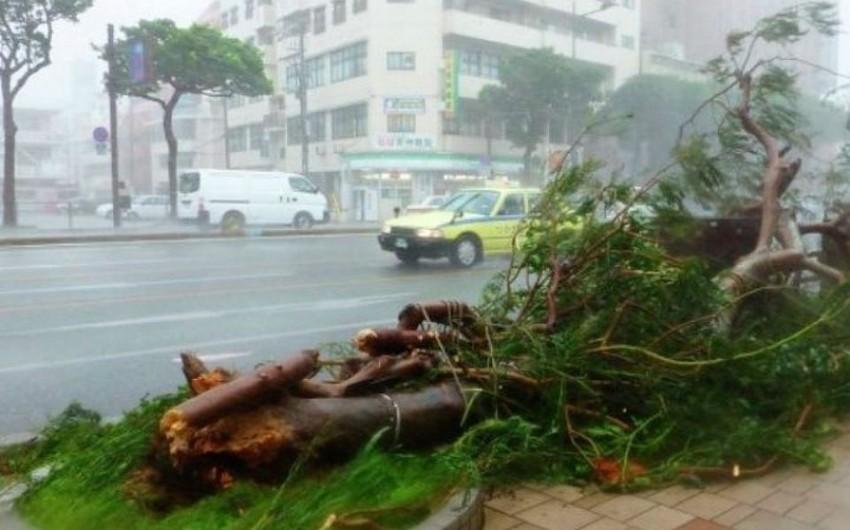 Yaponiyada Talim qasırğası nəticəsində 1 nəfər ölüb, 35 nəfər xəsarət alıb