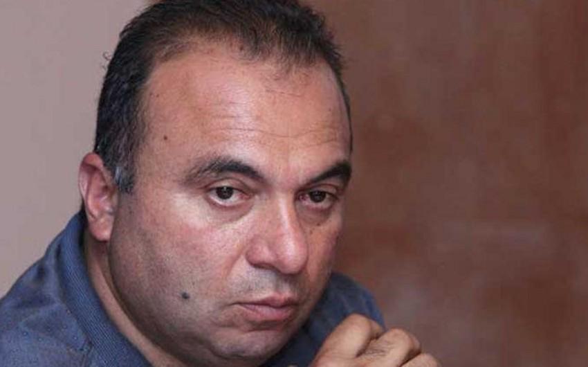 Yerevanda Paşinyanı öldürmək çağırışı edən  -