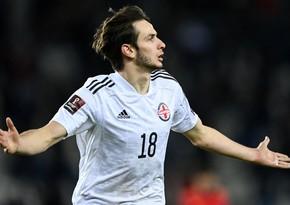 Kvaratsxeliya ardıcıl 2-ci dəfə Rusiyada ən yaxşı gənc futbolçu seçildi