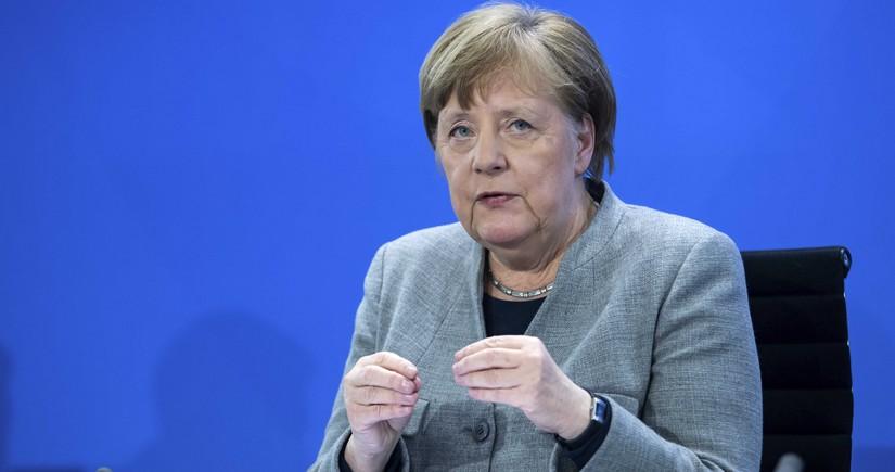 Angela Merkeldən Qarabağ açıqlaması: Dövlətlərin suverenliyi və ərazi bütövlüyünə hörmət olunmalıdır