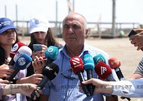AZAL: Füzuli aerovağzalının tikintisi üçün 240 ha ərazi minadan təmizlənib