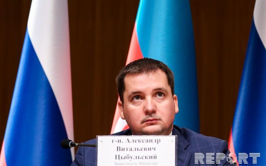 Aleksandr Tsıbulski: Rusiya Azərbaycanın ən böyük ticarət tərəfdaşlarından biri olaraq qalır