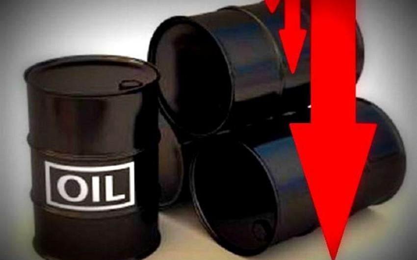 Стоимость азербайджанской нефти упала ниже 40 долларов