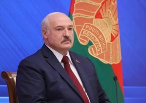 Aleksandr Lukaşenko: Qərb Belarusda təxribat törətməyi planlaşdırır