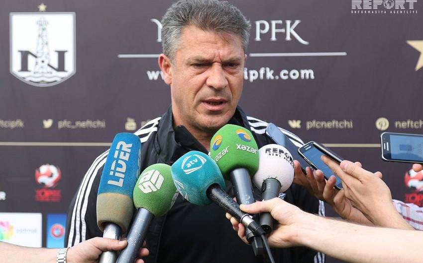 Vəli Qasımov: Komandam Şkendiya qarşısına çıxmağa hazırdır