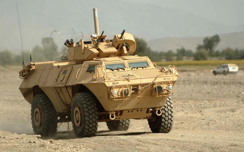 ABŞ Yunanıstana 1200 hərbi maşın verir