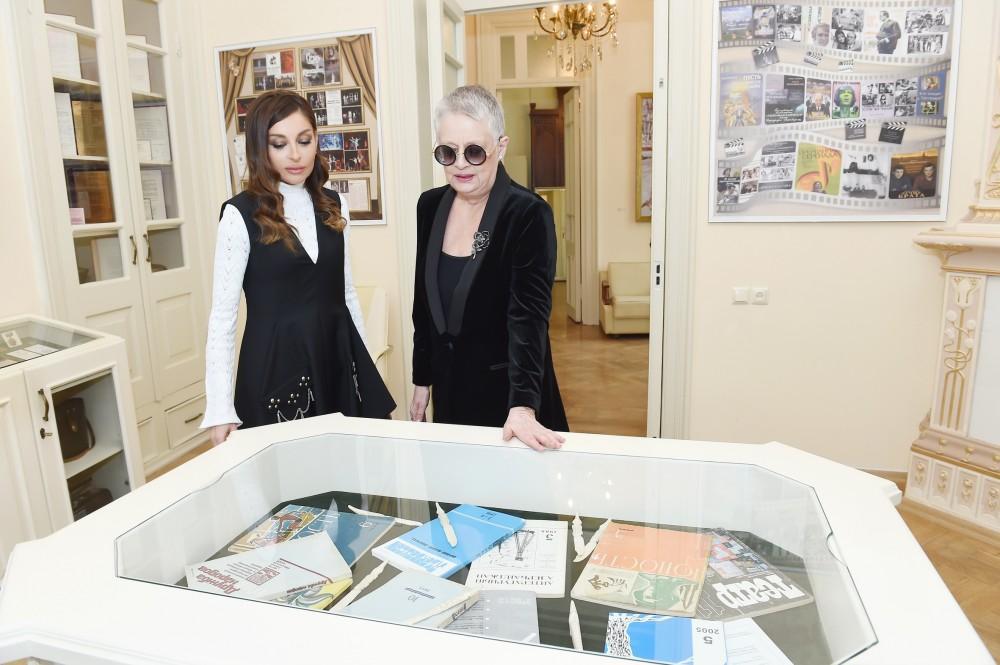 First VP Mehriban Aliyeva attends opening of Magsud Ibrahimbayov Creative Center