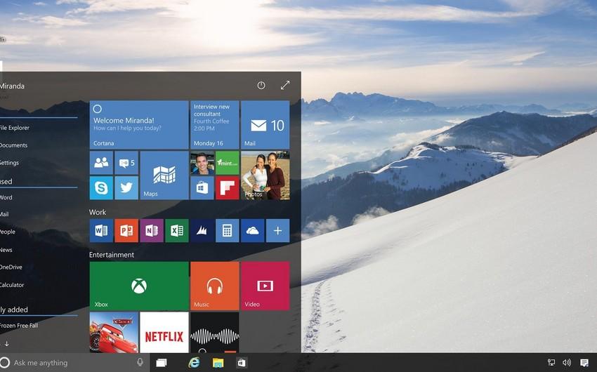 Windows 10 əməliyyat sisteminin satışına başlanılıb