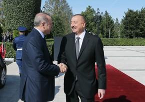 Эрдоган: Турецко-азербайджанские отношения прекрасно развиваются