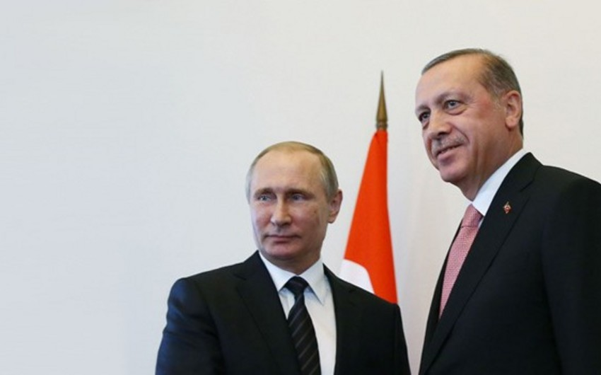 Putin and Erdogan discuss Syrian crisis