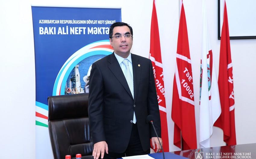 Bakı Ali Neft Məktəbində SPM-in yeni qrupunun açılışı olub