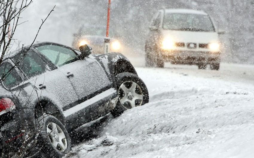 Швейцарию парализовали сильные снегопады