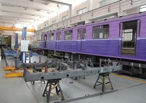 Bakı metrosu daha bir yeni nəsil qatarında ilk irihəcmli təmir aparır