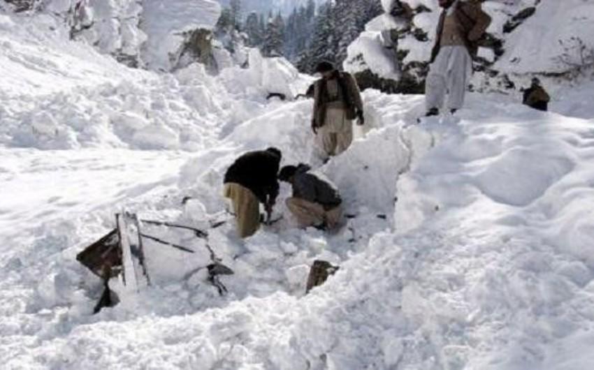Pakistanda qar uçqunu nəticəsində 14 nəfər həlak olub