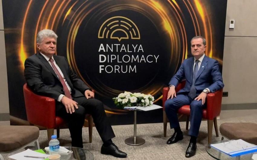 Глава МИД Азербайджана встретился с представителем ООН