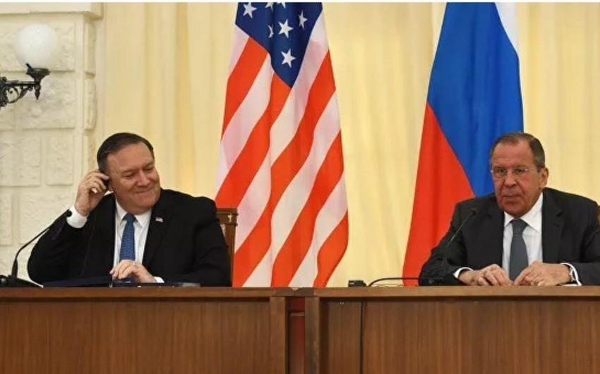 Лавров и Помпео провели переговоры в Вашингтоне