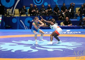 Azerbaijani female wrestler wins Olympic license