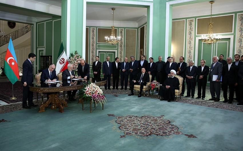 Между Азербайджаном и Ираном подписаны 11 соглашений