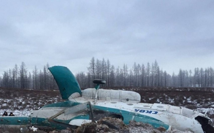 Two people die as helicopter makes crash landing in Russia