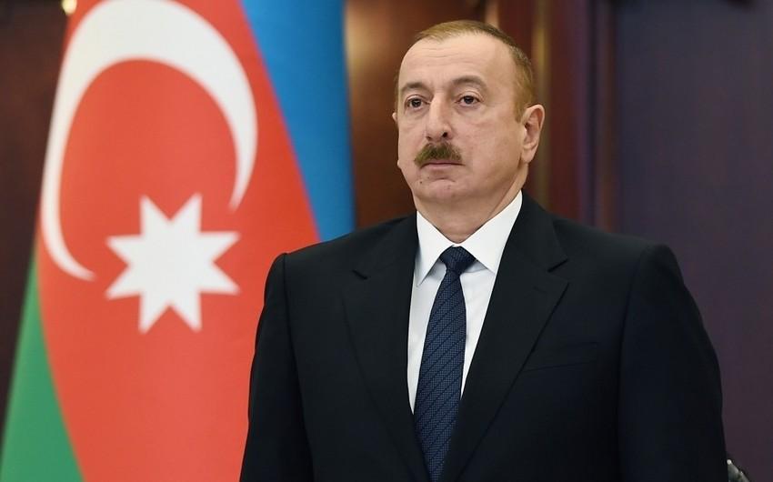 """Dövlət başçısı: """"Parlamentin sosial sahə ilə bağlı fəaliyyəti çox fəal olmalıdır"""""""