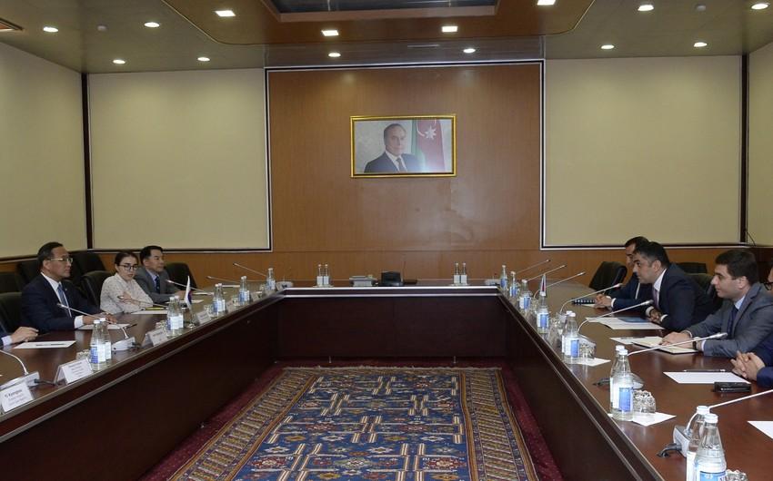 Azərbaycanla Koreya arasında İKT sahəsində əməkdaşlıq müzakirə olunub