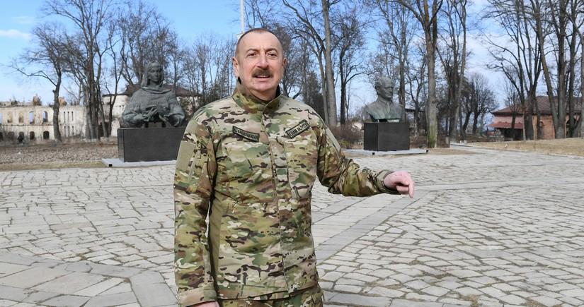 Azərbaycan Prezidenti Şuşada tarixi abidələrin hansı vəsait hesabına bərpa olunacağını açıqlayıb