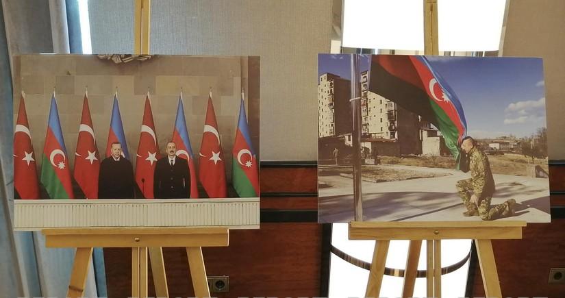 İstanbulda Anım Günü ilə əlaqədar sərgikeçirilib