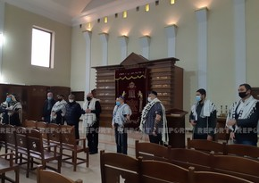 Memory of Patriotic War martyrs honored in synagogue with minute of silence