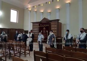 В синагоге минутой молчания почтили память шехидов второй Карабахской войны