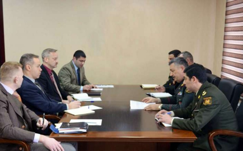 Main Medical Department of Ministry of Defence hosts the US delegation