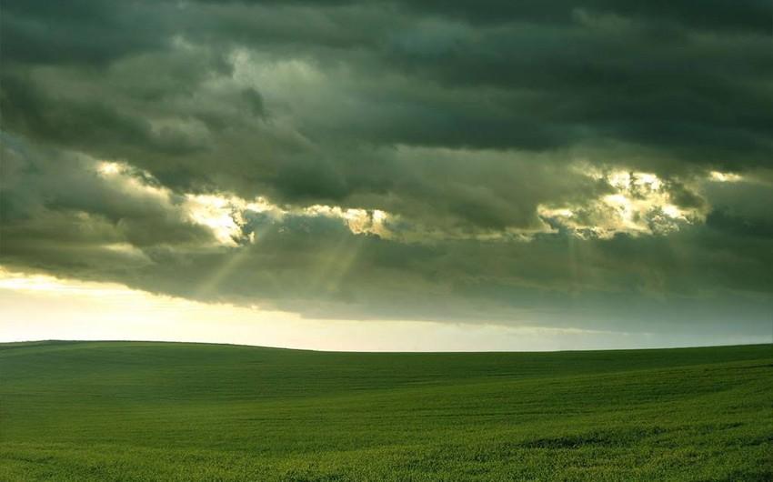 Sabah Azərbaycanda yağmurlu hava şəraiti davam edəcək