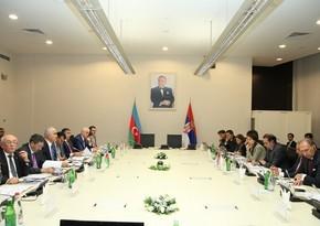 В Баку состоялось заседание Межправительственной комиссии Азербайджан-Сербия