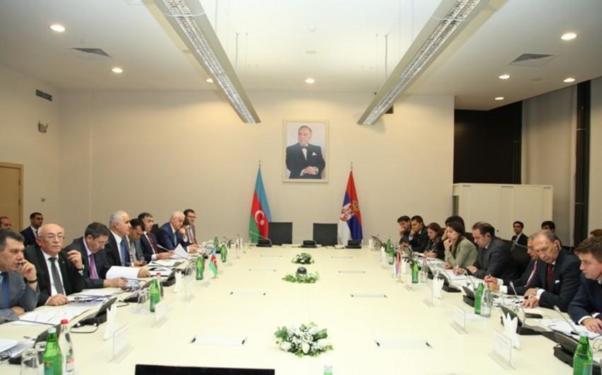 Bakıda Azərbaycan-Serbiya Hökumətlərarası Komissiyasının iclası keçirilib