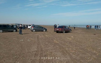 Remains of missiles fired by enemy at Siyazan fall into sea