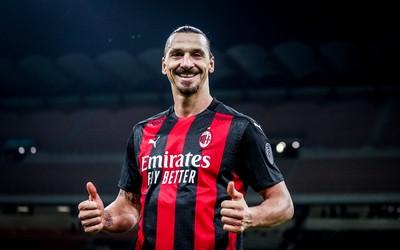 Zlatan Ibrahimovic scores his earliest goal for AC Milan