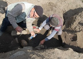 Ancient settlement and necropolis found in Khinalig