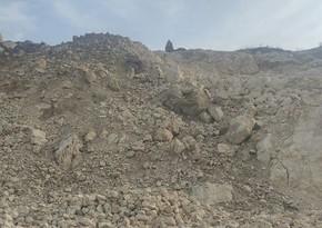 Jurnalistlər Oxçuçay və Əhəng dağında ermənilərin ekoloji vandallığı ilə tanış olublar