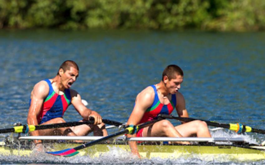 Azərbaycanın akademik avarçəkənlərindən ibarət duet Rio-2016da yarımfinala yüksəlib