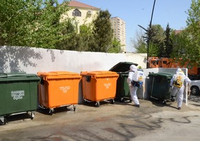 BŞİH: Yasamalda 460 ədəd konteyner meydançası yaradılıb