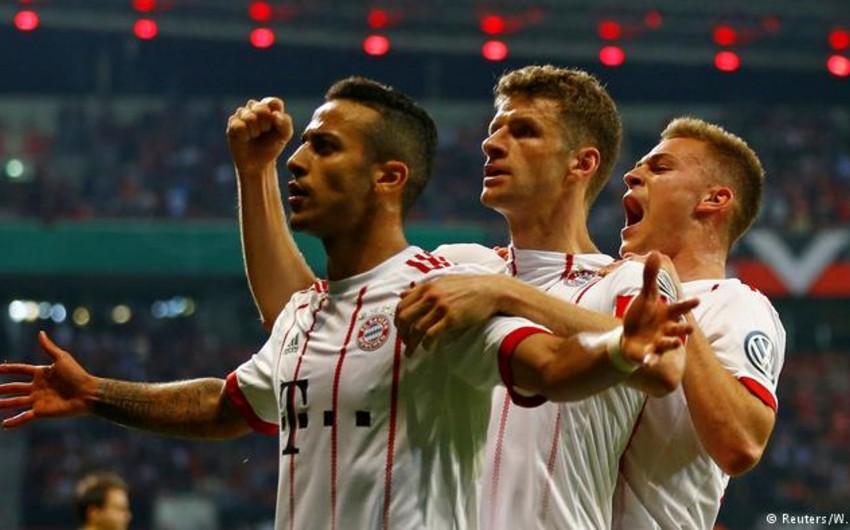 Бавария разгромила Байер и вышла в финал кубка Германии по футболу - ВИДЕО