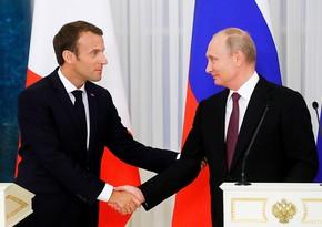 Putin, Macron discuss Karabakh