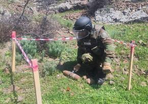 Tovuz və Qaradağda85 millimetrlik top mərmisi aşkar edilib