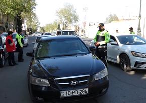Дорожная полиция провела рейд в Гяндже