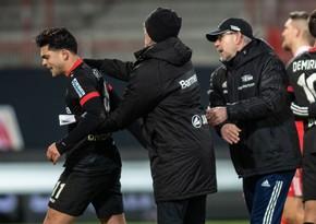 Əfqan futbolçu Bundesliqa matçında irqçiliyə məruz qaldı