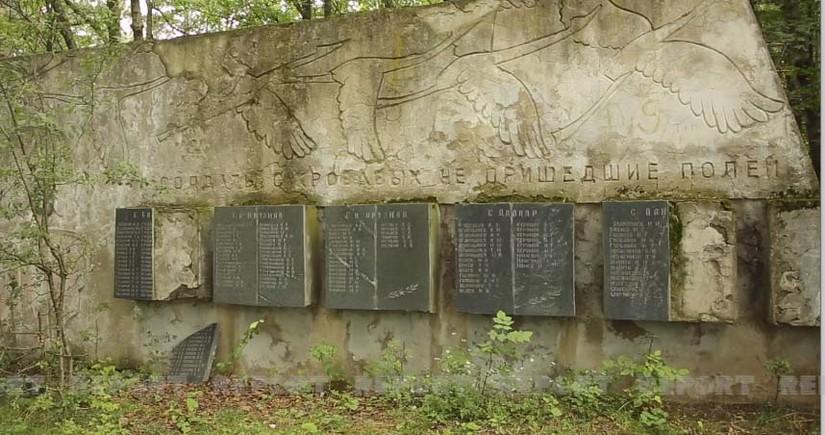 Gürcüstanda azərbaycanlıların xatirəsinə etinasızlıq: Memorial abidə baxımsızlıqdan dağılıb